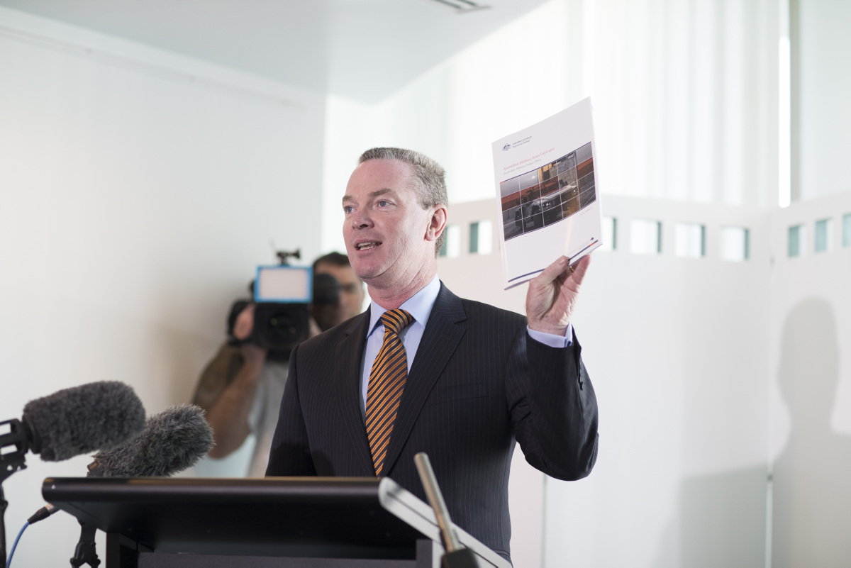AMSC Launch - Hon Christopher Pyne MP