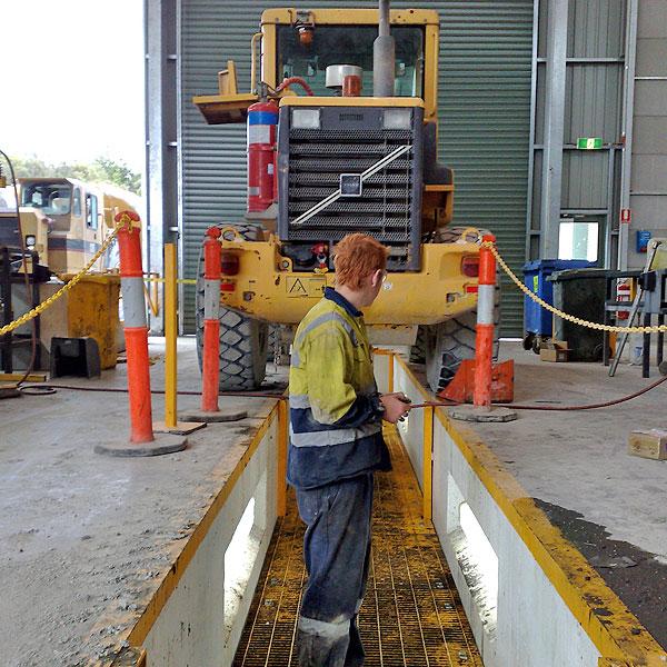 Shire Council Road Maintenance Workshop Pit
