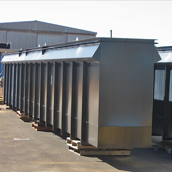 Prefabricated drop-in pits with lift