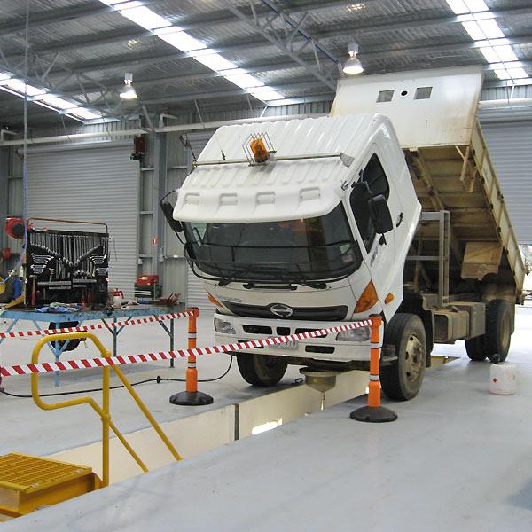 Workshop pit safety